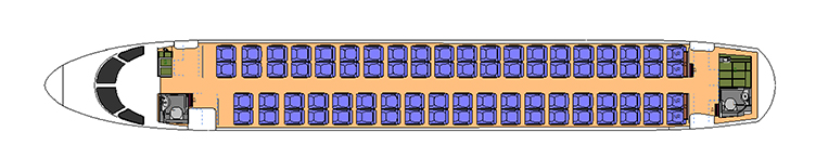 Boeing 737 cabin